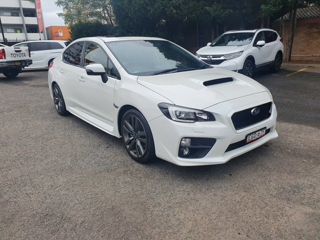 Used Subaru WRX V1 MY17 Premium AWD, 2017 Subaru WRX V1 MY17 Premium AWD White 6 Speed Manual Sedan