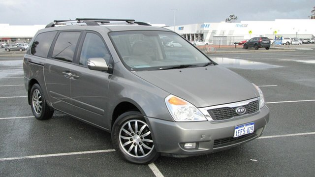 Used Kia Grand Carnival VQ MY12 Platinum, 2011 Kia Grand Carnival VQ MY12 Platinum Grey 6 Speed Sports Automatic Wagon