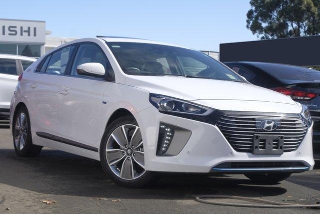 Used Hyundai Ioniq AE.2 MY19 hybrid DCT Premium, 2018 Hyundai Ioniq AE.2 MY19 hybrid DCT Premium Polar White 6 Speed Sports Automatic Dual Clutch