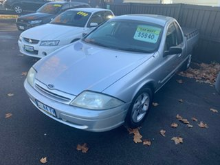 2001 Ford Falcon AU II Marlin Ute Super Cab XLS Silver 4 Speed Automatic Utility.