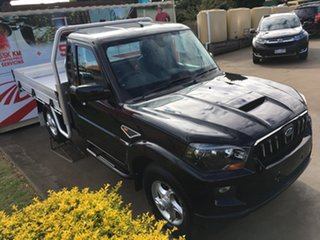 2019 Mahindra Pik-Up S10 MY18 4WD Black 6 Speed Manual Cab Chassis