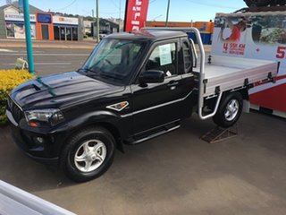 2019 Mahindra Pik-Up S10 MY18 4WD Black 6 Speed Manual Cab Chassis.