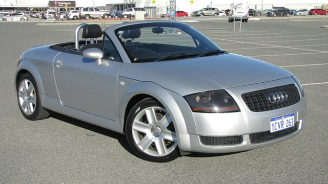 Used Audi TT MY2005 , 2005 Audi TT MY2005 Silver 6 Speed Sports Automatic Roadster