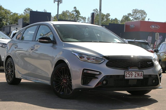 Used Kia Cerato BD MY20 GT DCT, 2019 Kia Cerato BD MY20 GT DCT Silky Silver 7 Speed Sports Automatic Dual Clutch Hatchback
