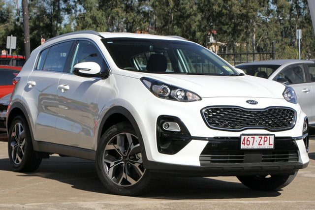 Demo Kia Sportage QL MY20 SX 2WD, 2019 Kia Sportage QL MY20 SX 2WD Clear White 6 Speed Manual Wagon