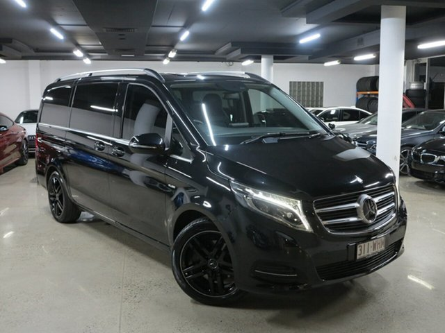 Used Mercedes-Benz V-Class 447 V250 d 7G-Tronic + Avantgarde, 2016 Mercedes-Benz V-Class 447 V250 d 7G-Tronic + Avantgarde Black 7 Speed Sports Automatic Wagon