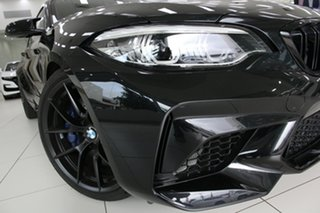 2018 BMW M2 F87 MY19 Competition Black 7 Speed Auto Dual Clutch Coupe.