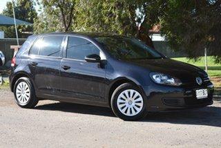 2010 Volkswagen Golf VI MY11 77TSI DSG Black 7 Speed Auto Sportshift Hatchback