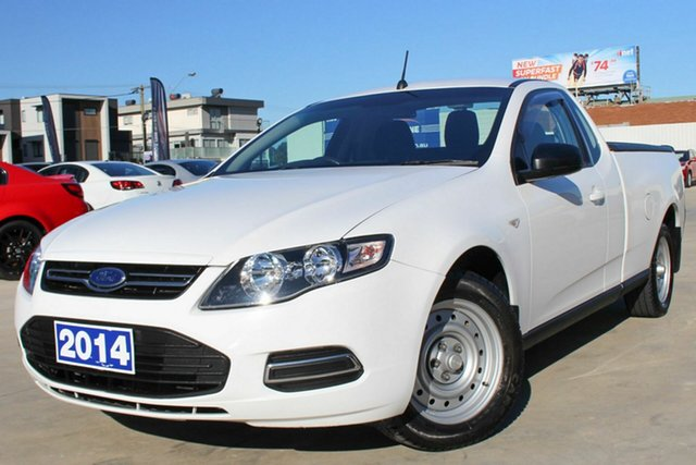 Used Ford Falcon FG MkII EcoLPi Ute Super Cab, 2014 Ford Falcon FG MkII EcoLPi Ute Super Cab White 6 Speed Automatic Utility