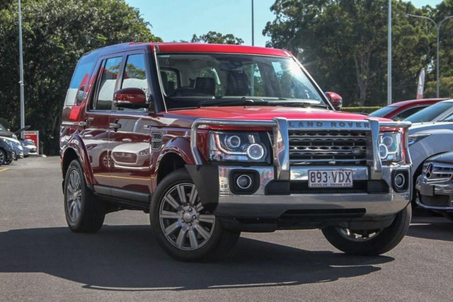 Used Land Rover Discovery Series 4 L319 MY14 TDV6, 2014 Land Rover Discovery Series 4 L319 MY14 TDV6 Red 8 Speed Sports Automatic Wagon