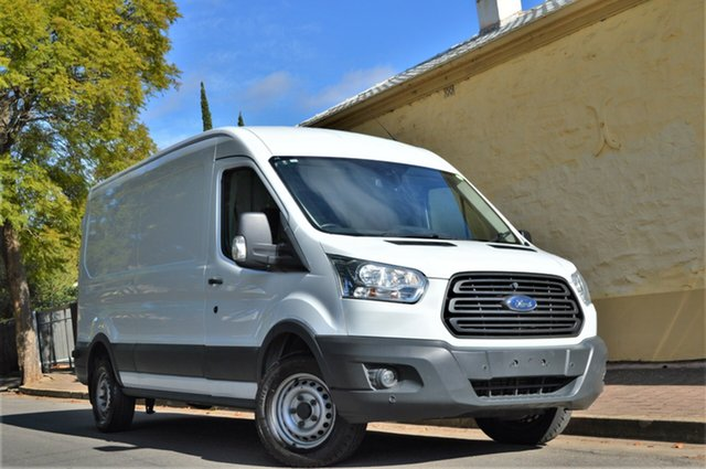 Used Ford Transit VO 350L Mid Roof LWB, 2015 Ford Transit VO 350L Mid Roof LWB White 6 Speed Manual Van