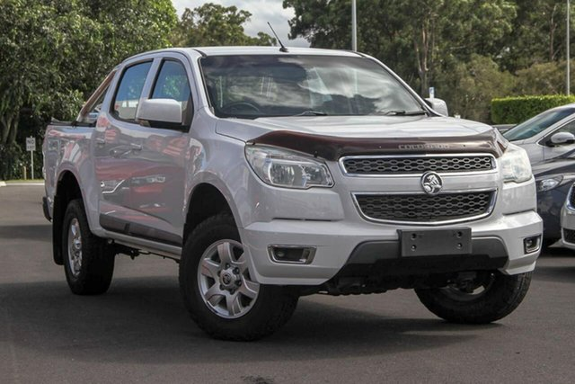 Used Holden Colorado RG MY16 LS-X Crew Cab, 2016 Holden Colorado RG MY16 LS-X Crew Cab White 6 Speed Sports Automatic Utility