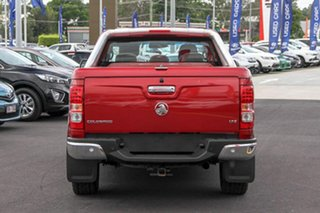 2015 Holden Colorado RG MY15 LTZ Crew Cab Red 6 Speed Sports Automatic Utility