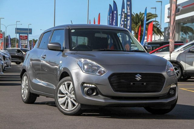 Used Suzuki Swift AZ GL Navigator, 2017 Suzuki Swift AZ GL Navigator Premium Silver 1 Speed Constant Variable Hatchback
