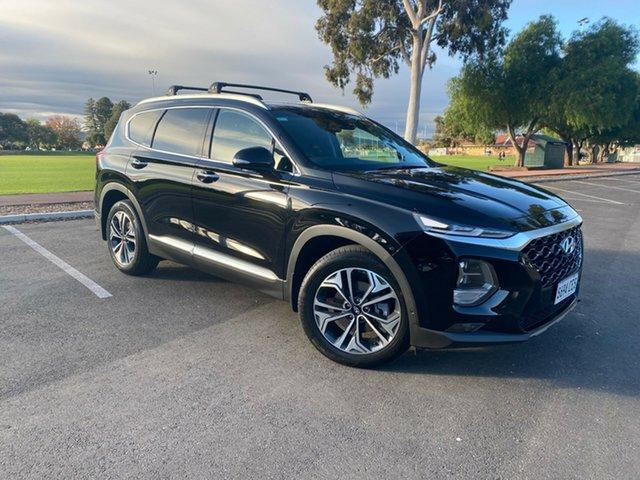 Demo Hyundai Santa Fe TM.2 MY20 Highlander, 2019 Hyundai Santa Fe TM.2 MY20 Highlander Phantom Black 8 Speed Sports Automatic Wagon