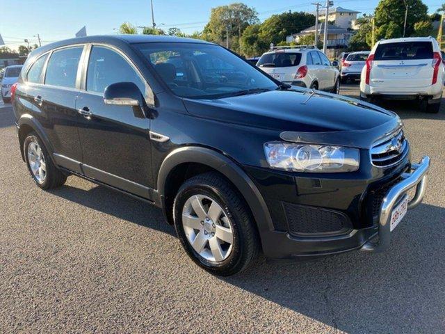 Used Holden Captiva CG MY14 7 LS, 2014 Holden Captiva CG MY14 7 LS Black 6 Speed Sports Automatic Wagon