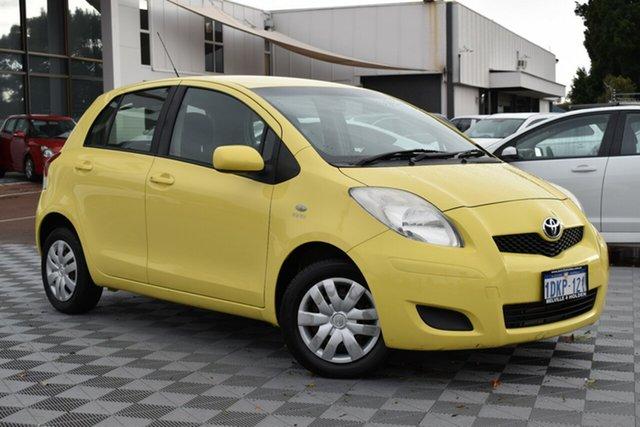 Used Toyota Yaris NCP90R MY10 YR, 2010 Toyota Yaris NCP90R MY10 YR Yellow 4 Speed Automatic Hatchback
