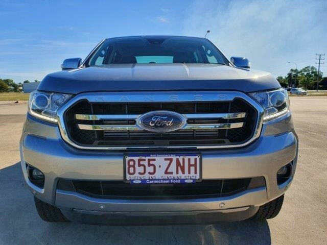 Used Ford Ranger PX MkIII 2019.75MY XLT Pick-up Double Cab, 2019 Ford Ranger PX MkIII 2019.75MY XLT Pick-up Double Cab Aluminium 10 Speed Sports Automatic