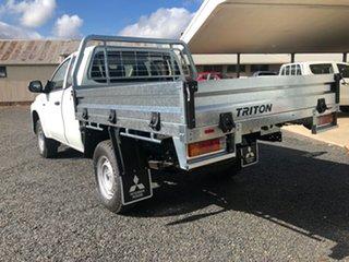 2020 Mitsubishi Triton MR MY20 GLX (4x4) White 6 Speed Manual Club Cab Chassis