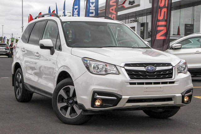 Used Subaru Forester S4 MY18 2.5i-L CVT AWD, 2017 Subaru Forester S4 MY18 2.5i-L CVT AWD Crystal White Pearl 6 Speed Constant Variable Wagon
