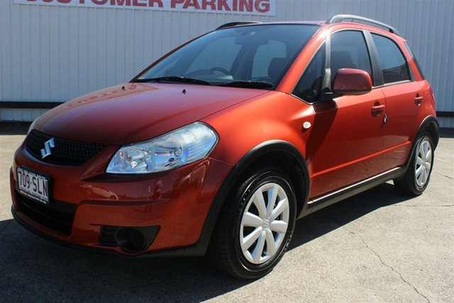 Used Suzuki SX4 GYA MY11 , 2012 Suzuki SX4 GYA MY11 Orange 6 Speed Manual Hatchback