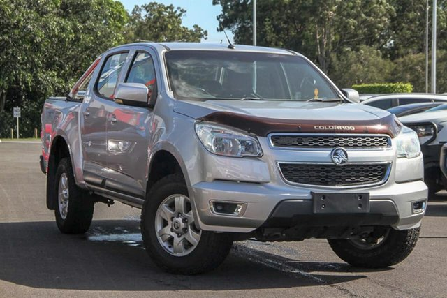 Used Holden Colorado RG MY16 LS-X Crew Cab, 2015 Holden Colorado RG MY16 LS-X Crew Cab Silver 6 Speed Sports Automatic Utility