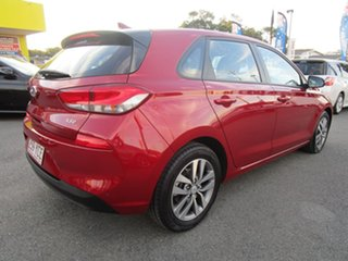 2017 Hyundai i30 PD MY18 Active D-CT Red 7 Speed Sports Automatic Dual Clutch Hatchback
