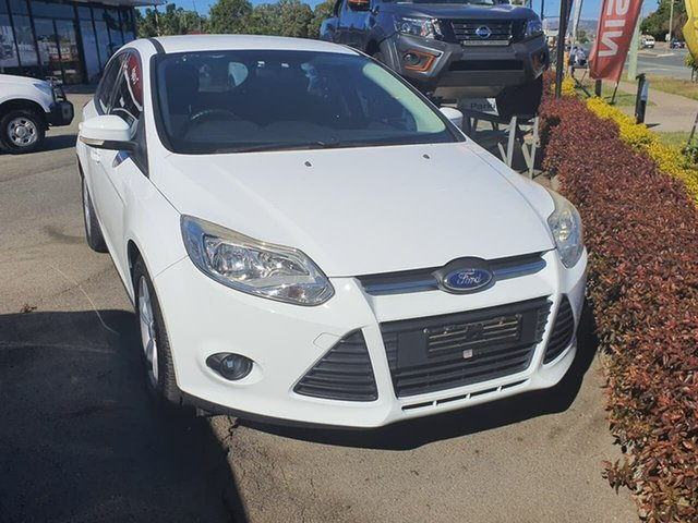 Used Ford Focus LW MkII Trend, 2013 Ford Focus LW MkII Trend White 5 Speed Manual Hatchback