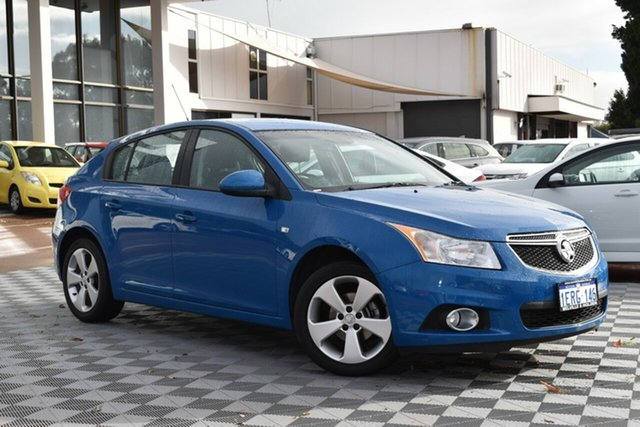 Used Holden Cruze JH Series II MY14 Equipe, 2014 Holden Cruze JH Series II MY14 Equipe Blue 6 Speed Sports Automatic Hatchback