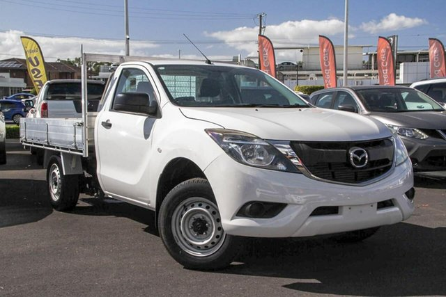 Used Mazda BT-50 UR0YD1 XT 4x2, 2016 Mazda BT-50 UR0YD1 XT 4x2 White 6 Speed Manual Cab Chassis