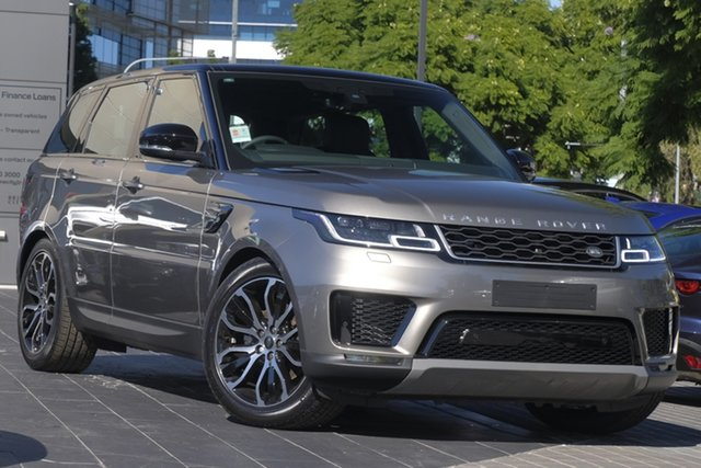 Demo Land Rover Range Rover Sport L494 19.5MY SDV6 183kW SE, 2019 Land Rover Range Rover Sport L494 19.5MY SDV6 183kW SE Silicon Silver 8 Speed Sports Automatic