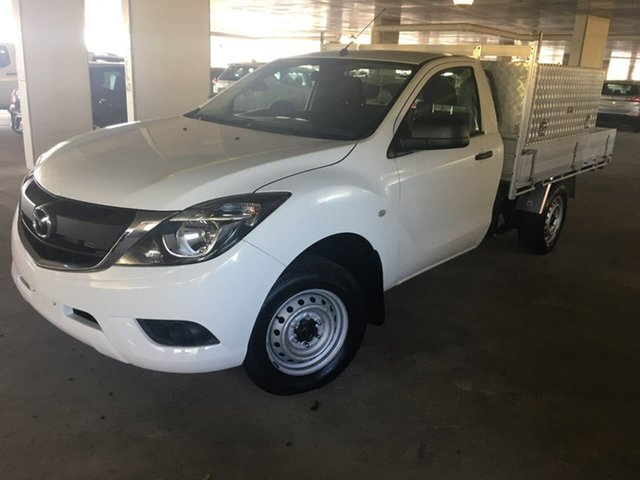 Used Mazda BT-50 UR0YE1 XT 4x2, 2017 Mazda BT-50 UR0YE1 XT 4x2 White 6 Speed Manual Cab Chassis