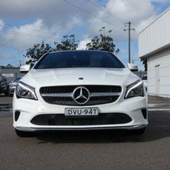 2018 Mercedes-Benz CLA-Class X117 808+058MY CLA220 d Shooting Brake DCT White 7 Speed.