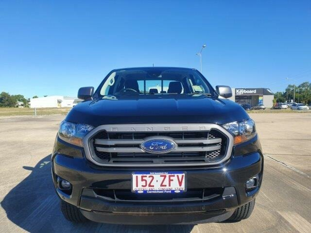 Used Ford Ranger PX MkIII 2020.25MY XLS Pick-up Double Cab, 2019 Ford Ranger PX MkIII 2020.25MY XLS Pick-up Double Cab Shadow Black 6 Speed Sports Automatic