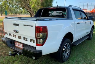 2019 Ford Ranger PX MkIII 2019.00MY Wildtrak Pick-up Double Cab White 10 Speed Sports Automatic.