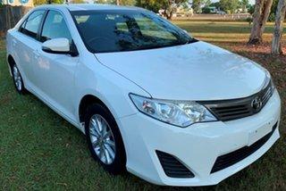 2014 Toyota Camry ASV50R Altise White 6 Speed Sports Automatic Sedan.