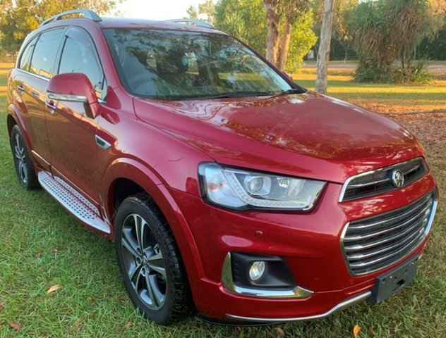 Used Holden Captiva CG MY16 LTZ AWD, 2016 Holden Captiva CG MY16 LTZ AWD Red 6 Speed Sports Automatic Wagon
