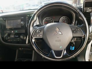2015 Mitsubishi Outlander ZJ MY14.5 LS (4x4) White Continuous Variable Wagon