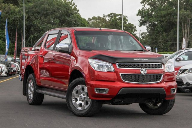 Used Holden Colorado RG MY15 LTZ Crew Cab, 2015 Holden Colorado RG MY15 LTZ Crew Cab Red 6 Speed Sports Automatic Utility