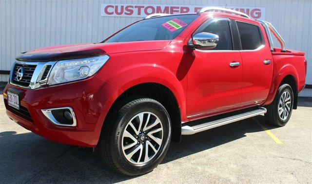 Used Nissan Navara D23 ST-X, 2016 Nissan Navara D23 ST-X Burning Red 7 Speed Sports Automatic Utility
