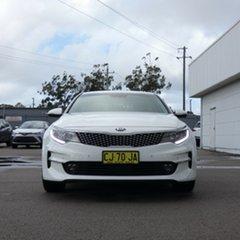 2016 Kia Optima JF MY16 SI White 6 Speed Sports Automatic Sedan.