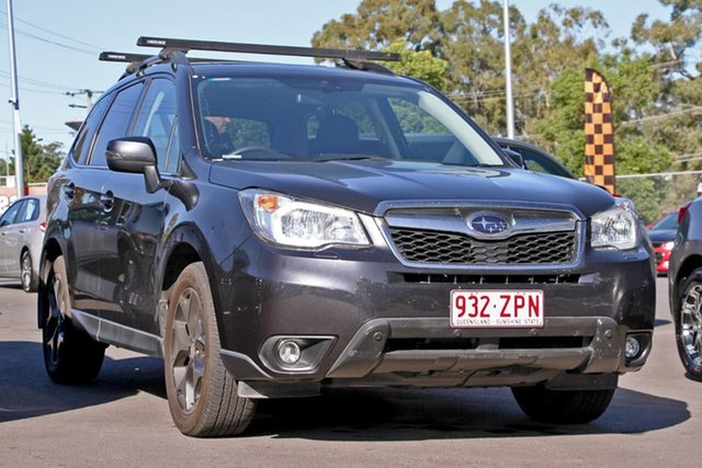 Used Subaru Forester S4 MY15 2.0D-S CVT AWD, 2015 Subaru Forester S4 MY15 2.0D-S CVT AWD Grey 7 Speed Constant Variable Wagon