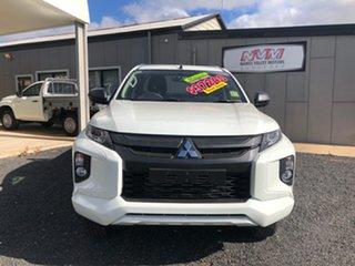 2020 Mitsubishi Triton MR MY20 GLX (4x4) White 6 Speed Manual Club Cab Chassis.