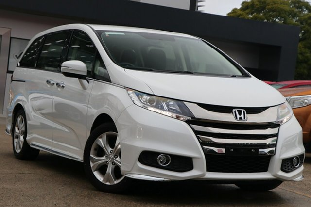 Used Honda Odyssey RC MY20 VTi, 2019 Honda Odyssey RC MY20 VTi Platinum White Continuous Variable Wagon