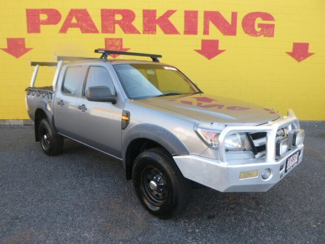Used Ford Ranger PK XL Crew Cab, 2011 Ford Ranger PK XL Crew Cab Grey 5 Speed Manual Utility