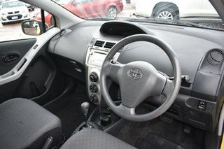 2010 Toyota Yaris NCP90R MY10 YR Yellow 4 Speed Automatic Hatchback