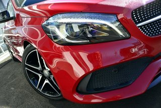 2015 Mercedes-Benz A-Class W176 806MY A250 D-CT 4MATIC Sport Red 7 Speed.