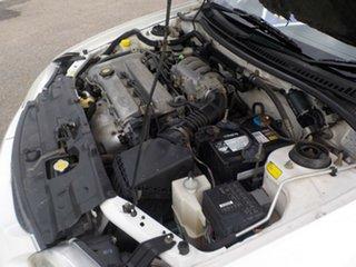 1997 Ford Laser KJ III (KM) GLXi White 4 Speed Automatic Hatchback