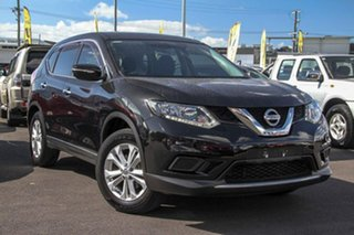 2015 Nissan X-Trail T32 ST X-tronic 2WD Black 7 Speed Constant Variable Wagon.