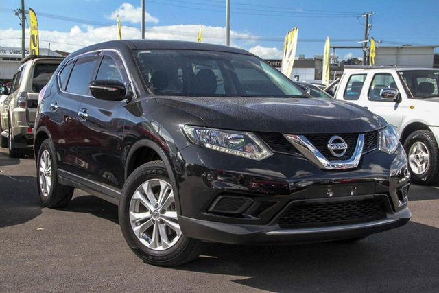 Used Nissan X-Trail T32 ST X-tronic 2WD, 2015 Nissan X-Trail T32 ST X-tronic 2WD Black 7 Speed Constant Variable Wagon